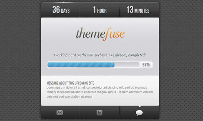 ThemeFuse Coming Soon Page