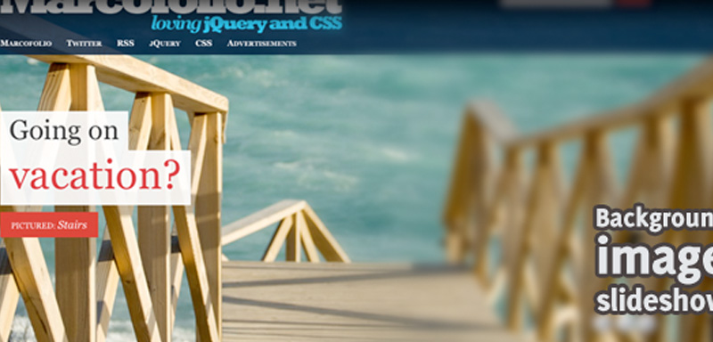 Download Advanced jQuery Background Image Slider