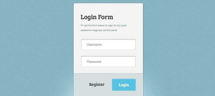 Amazing login form