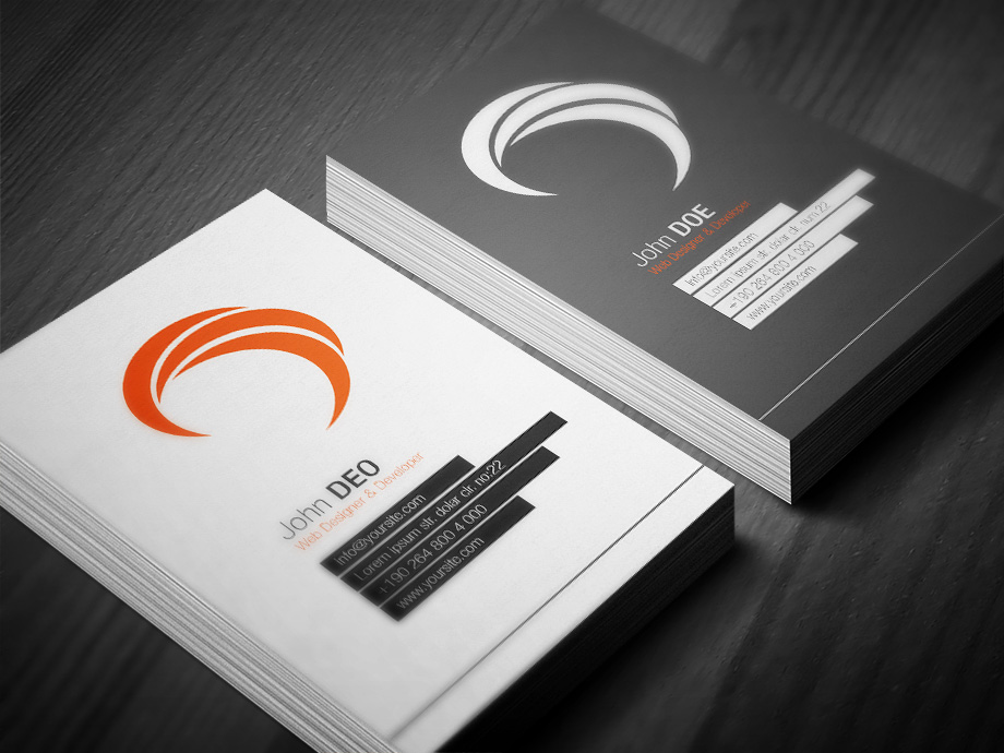 10 Best Modern Business Cards Business Card Templates 2013