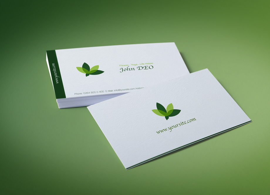 10 best modern business cards business card templates 2013 organic green business card organic reheart Gallery