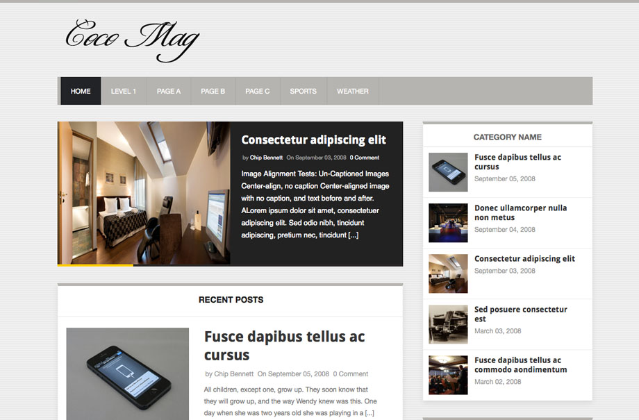 cocomag-wordpress-theme