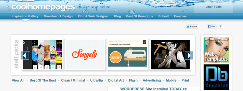 coolhomepages