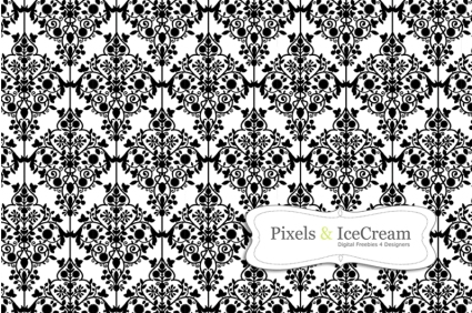 Sample Damask Pattern