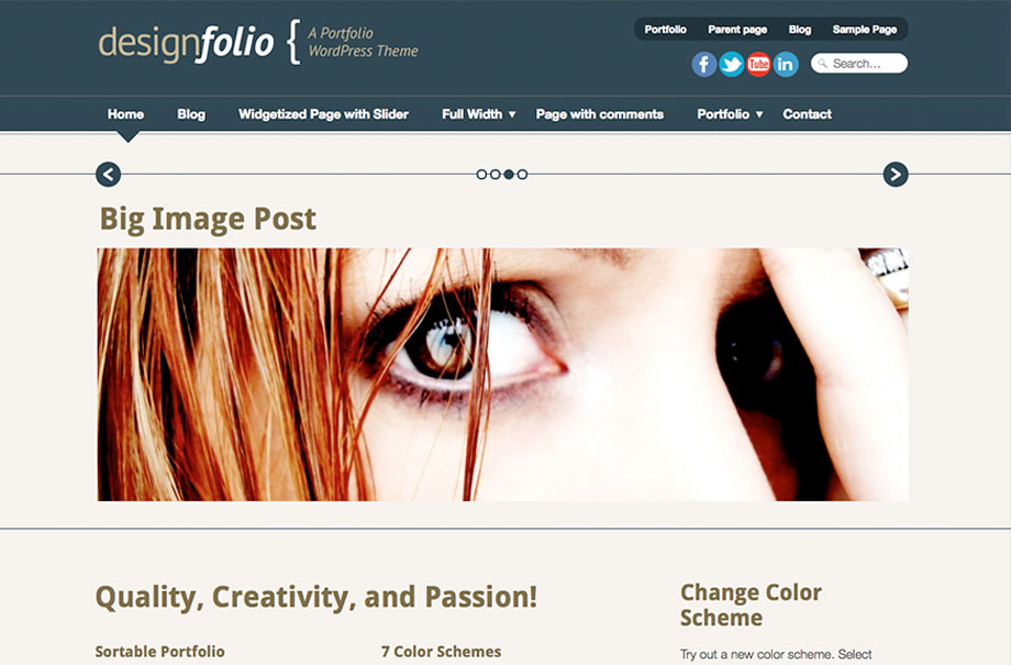 designfolio-wordpress-theme