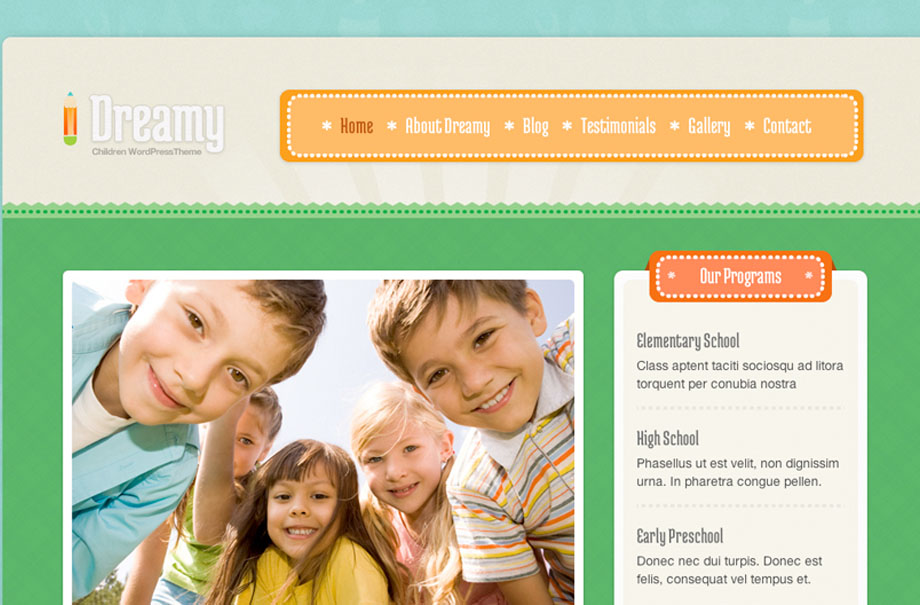 dreamy-wordpress-theme