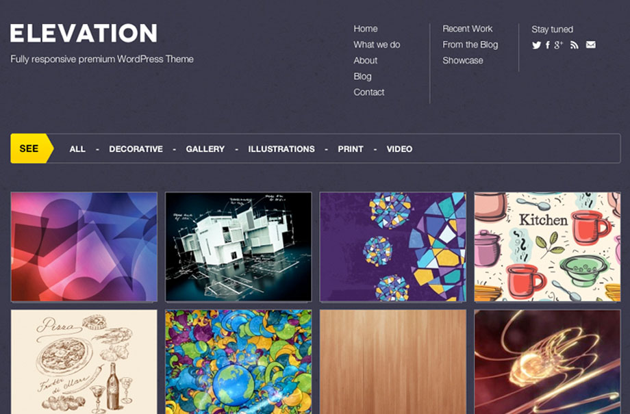 elevation-wordpress-theme