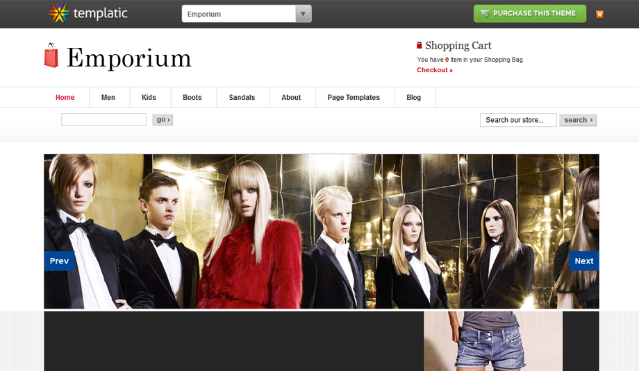 emporiom wordpress theme