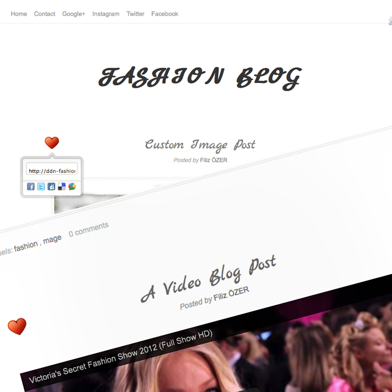 fashion-blogger-template