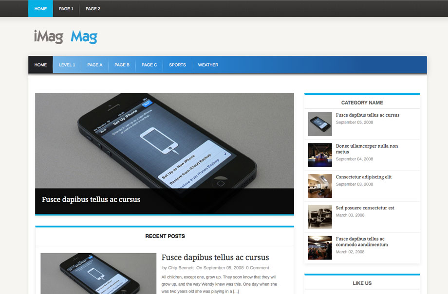 imagmag-wordpress-theme