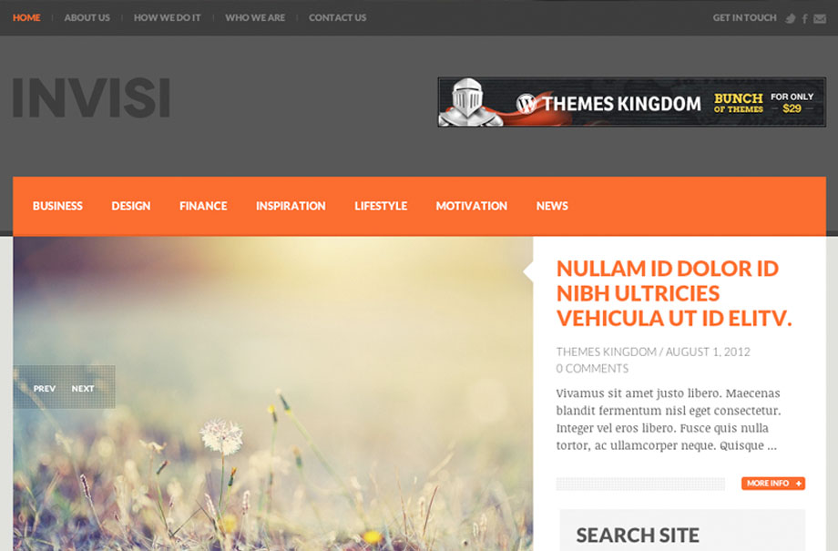 invisi-wordpress-theme