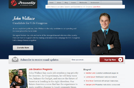 personality wordpress theme