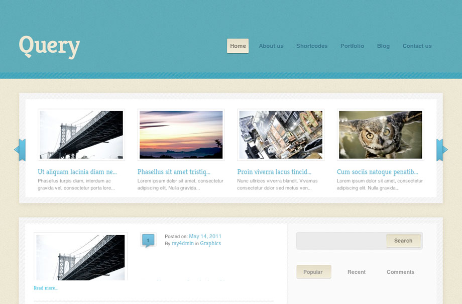 query-wordpress-theme