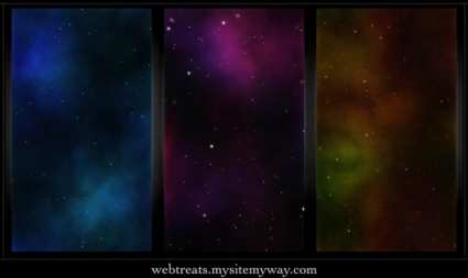 Tileable Classic Nebula Space Patterns