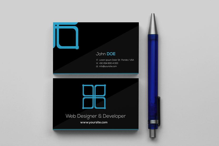 10 Best Modern Business Cards & Business Card Templates 2013