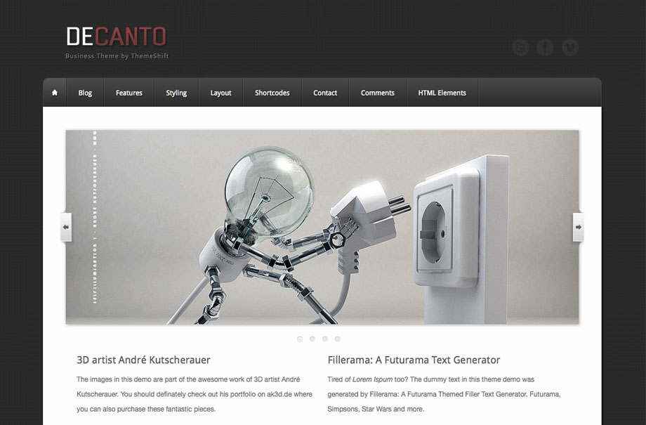 decanto-wordpress-theme