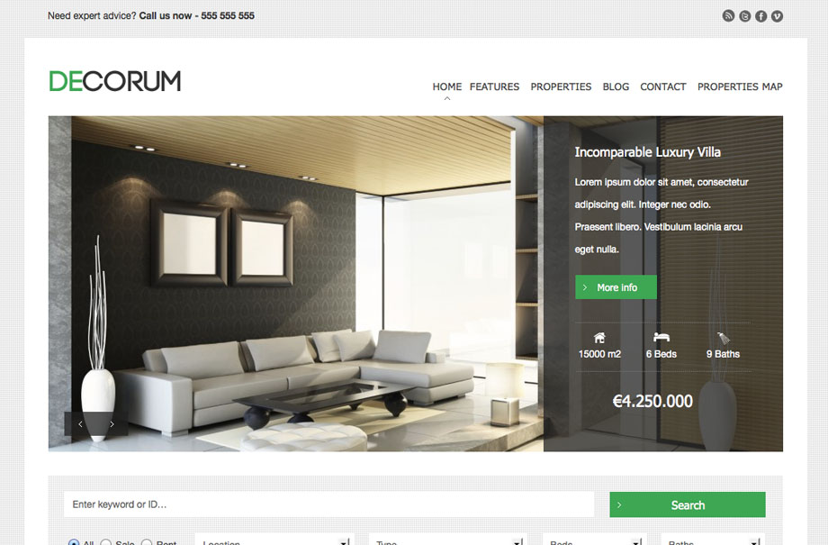 decorum-wordpress-theme