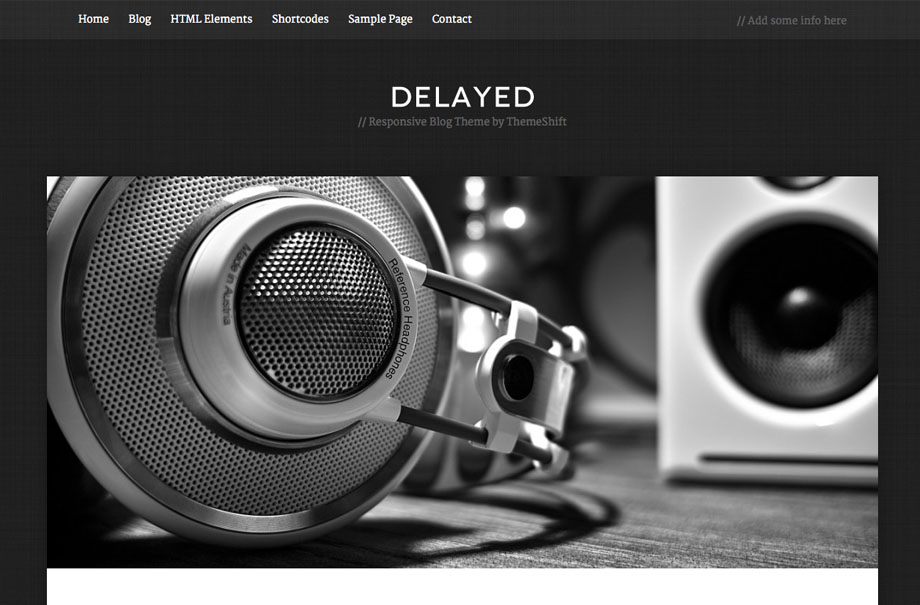 delayed-wordpress-theme