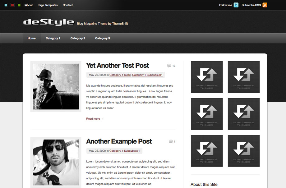 destyle-wordpress-theme