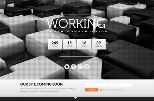 working-html5-template