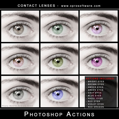 40 Free PhotoShop Actions Collection