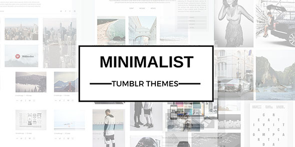Minimalist Tumblr Themes Featured Image