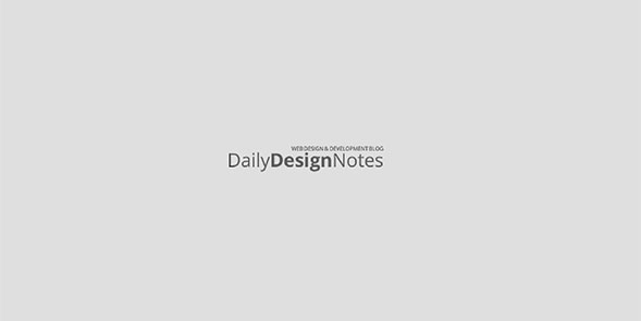 What is new on Daily Design Notes?
